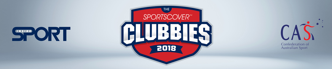 The Clubbies 2018 logo banner thingy